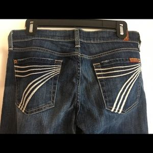 7 For All Mankind - Dojo Jeans - size 27